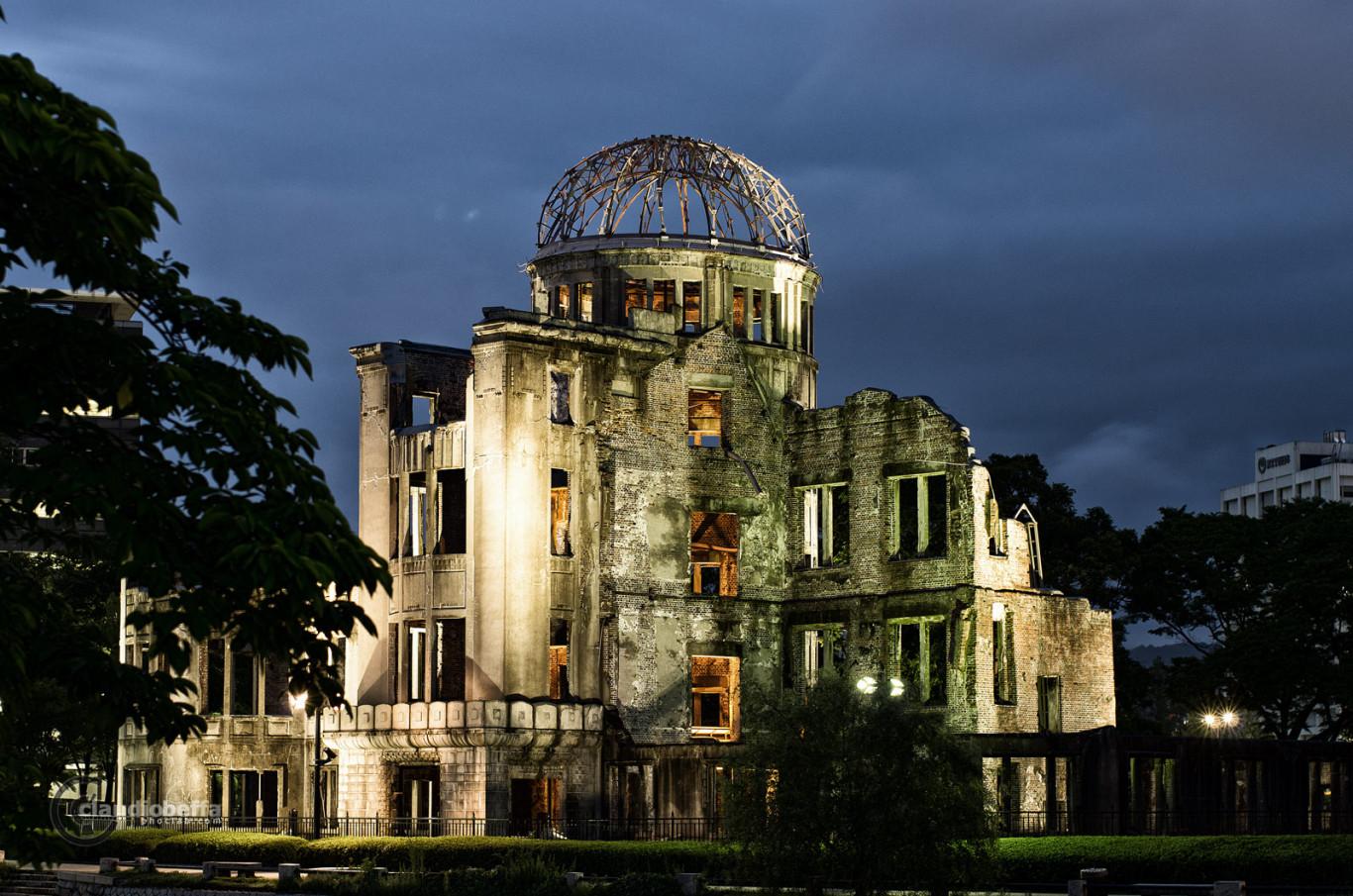 Japan Hiroshima A-Bomb Dome Genbaku Domu