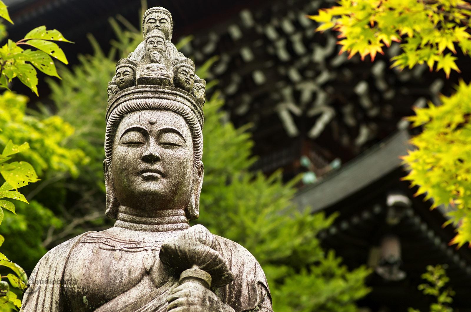 Bodhisattva Daisho-in Misen Miyajima Japan