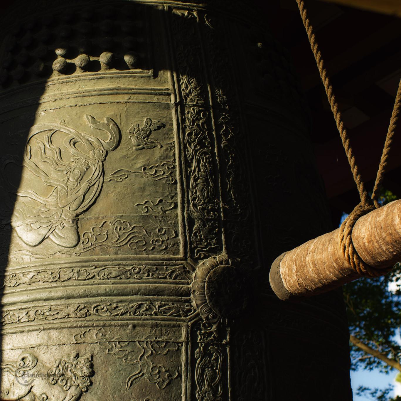 Peace Bell Byodo-in Temple Uji