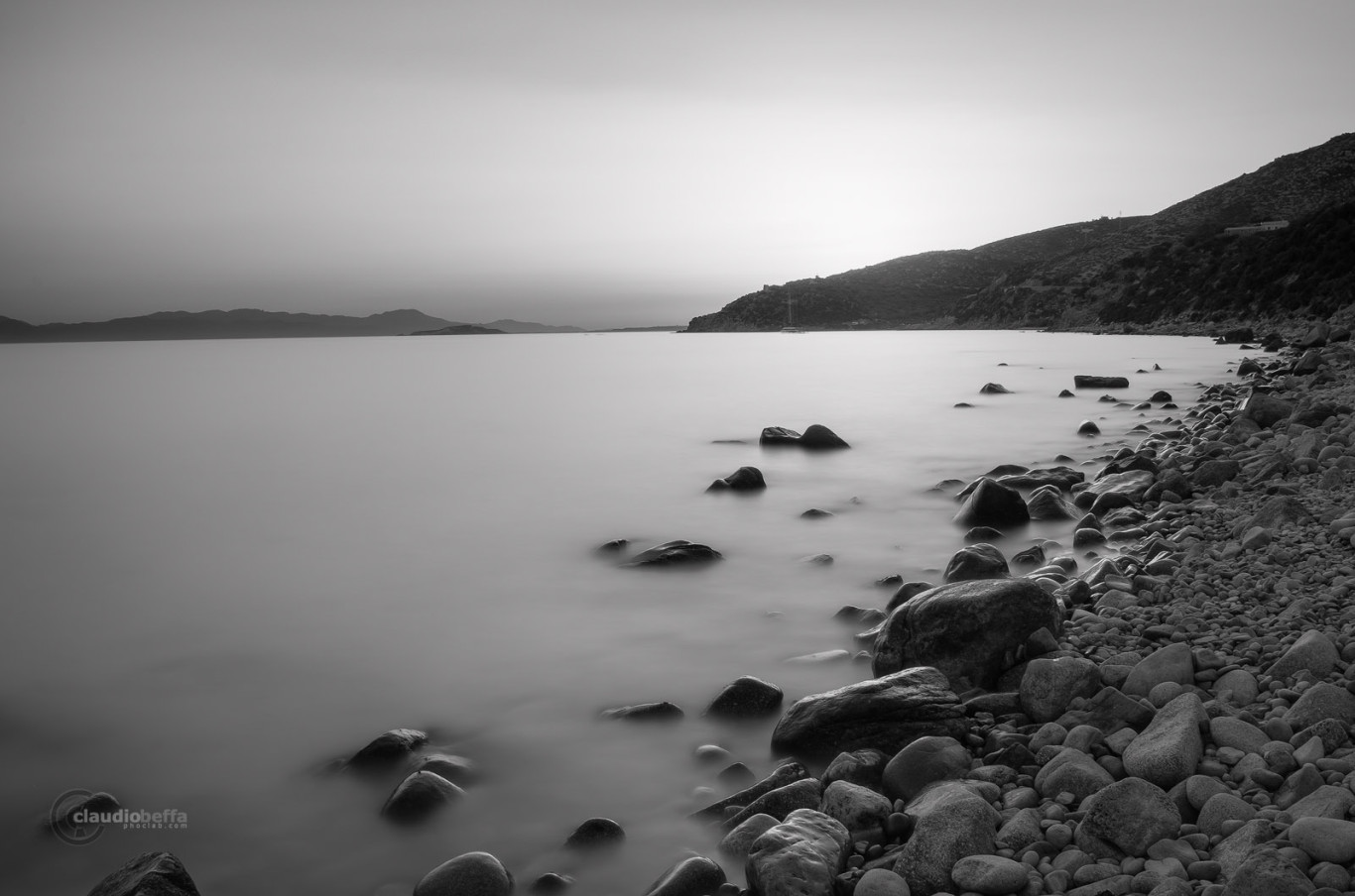 Italy, Travel, Pentax, Claudio Beffa, Nature, Sea, Sunset, Sardinia, Sardegna, Rocks, Long exposure, HDR