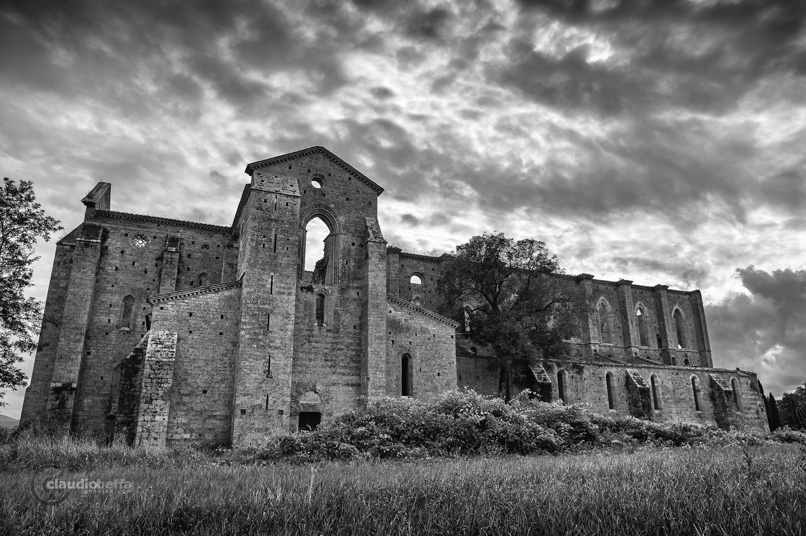 San Galgano, Abbey, Ruin, Tuscany, Italy, Nature, History, Architecture, Landscape, abbey of san galgano