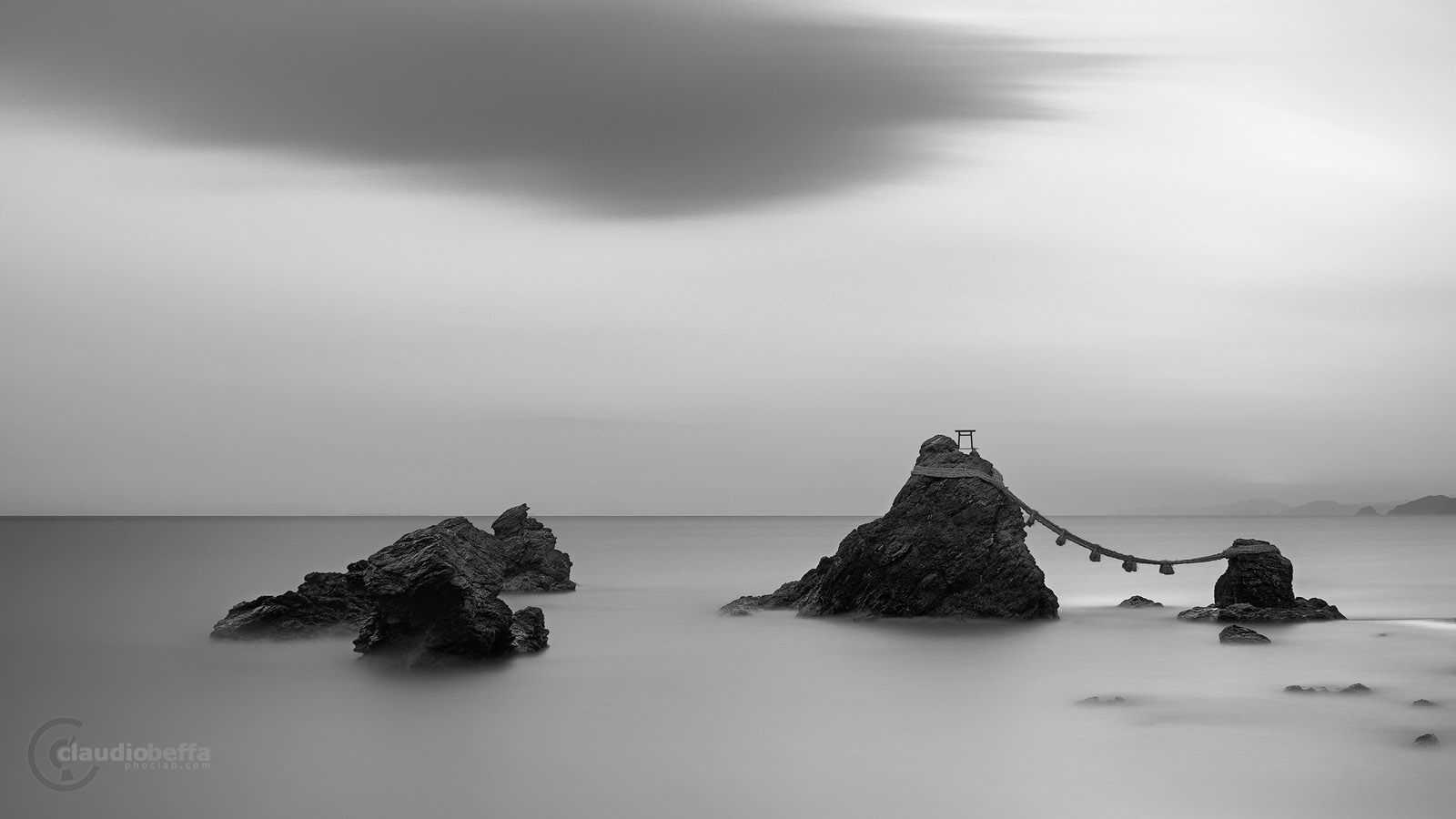 Meoto Iwa, Rocks, Japan, Landscape