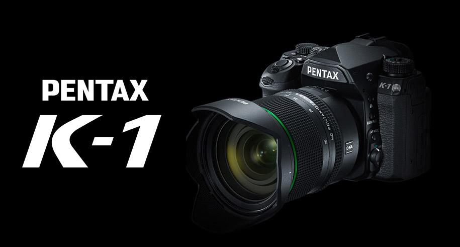 Pentax K-1, Full Frame, D-SLR