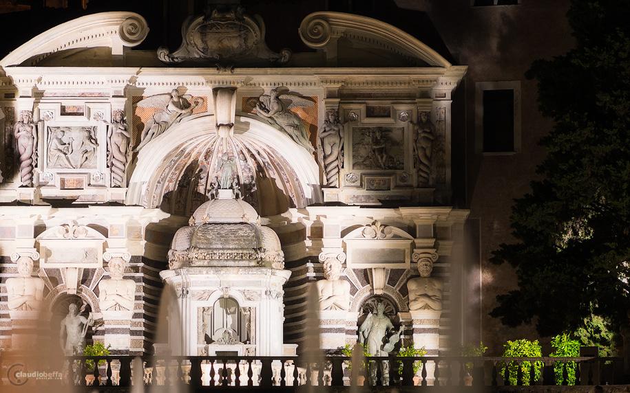 Fountain of the Organ, Fontana dell'Organo, Villa d'Este, Garden, Tivoli