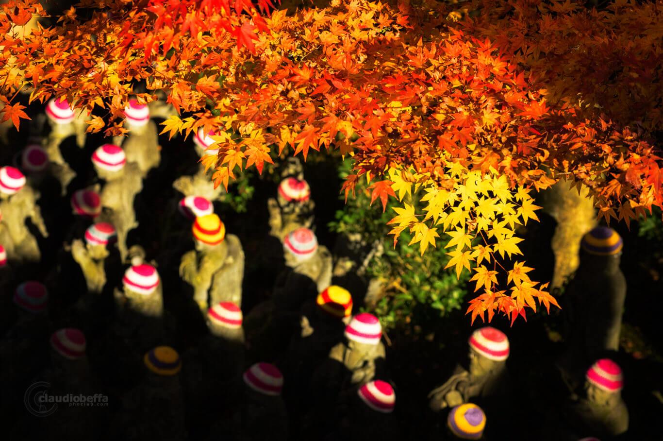Miyajima, Miyajima autumn, Momijidani, jizos, jizos autumn, Japan, Hiroshima, autumn, fall, momiji, forest, travel, photography, phoclab