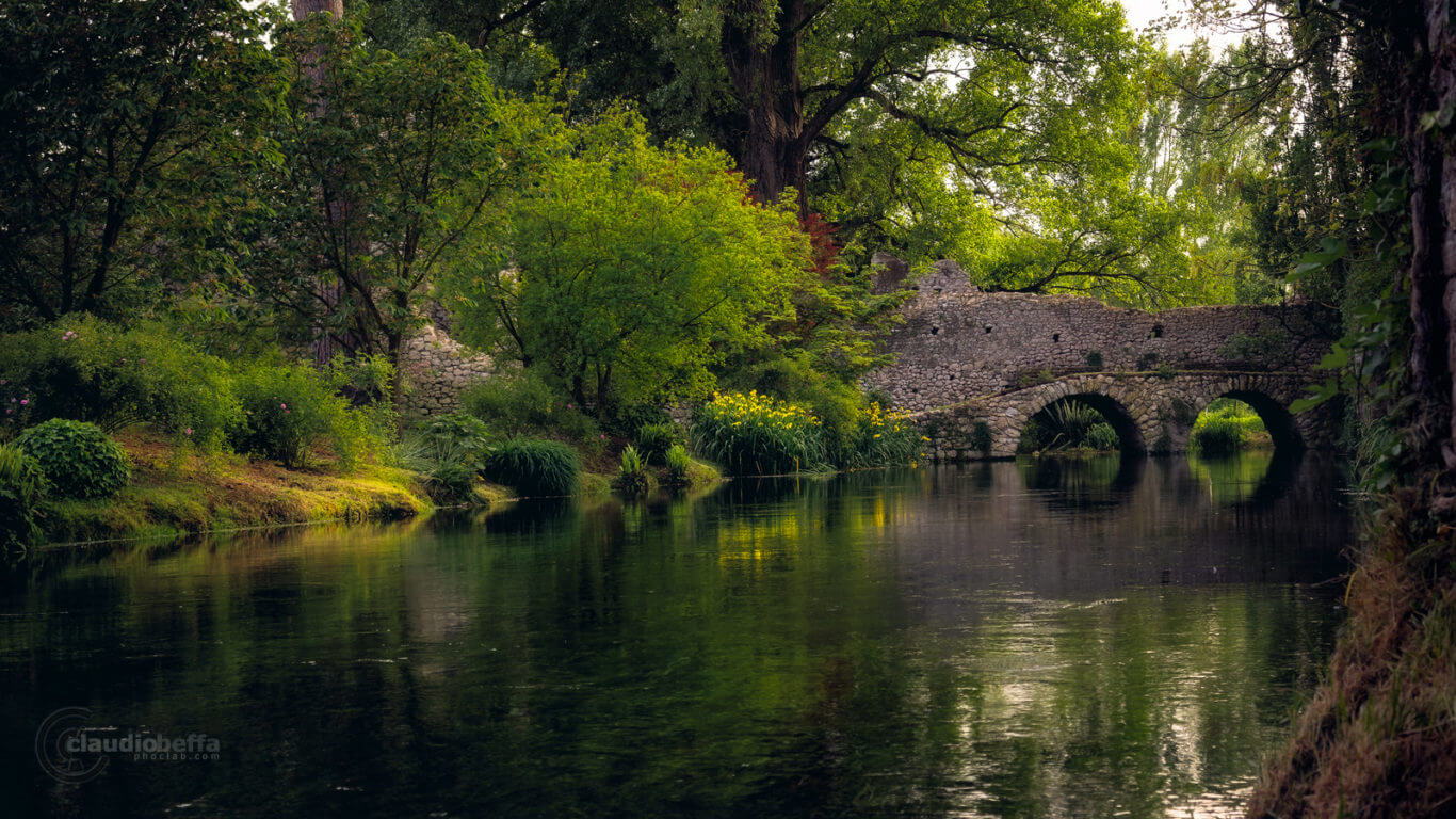 Garden of Ninfa, Garden, Ninfa, Italy, Forgotten Heaven, Nature, River, Bridge, Spring, Travel, Travel Photography, Ancient, Romantic