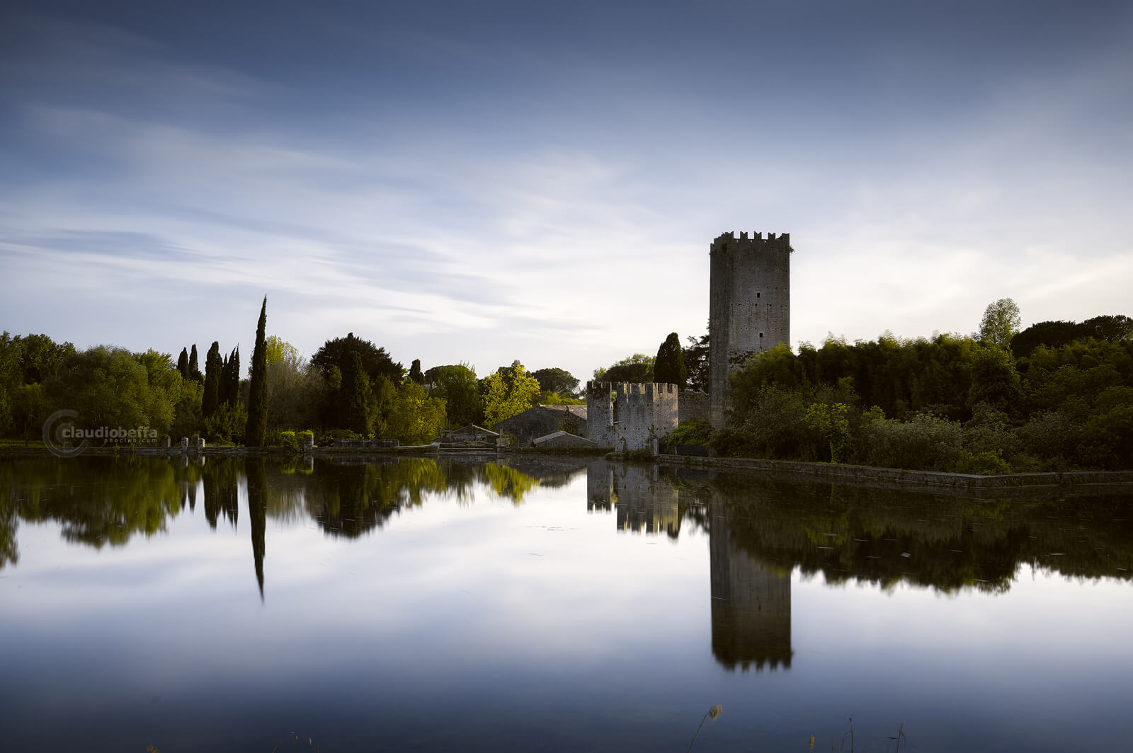 Garden of Ninfa, Garden, Ninfa, Italy, Tower, Lake, Reflections, Nature, Spring, Travel, Travel Photography, Ancient, Romantic