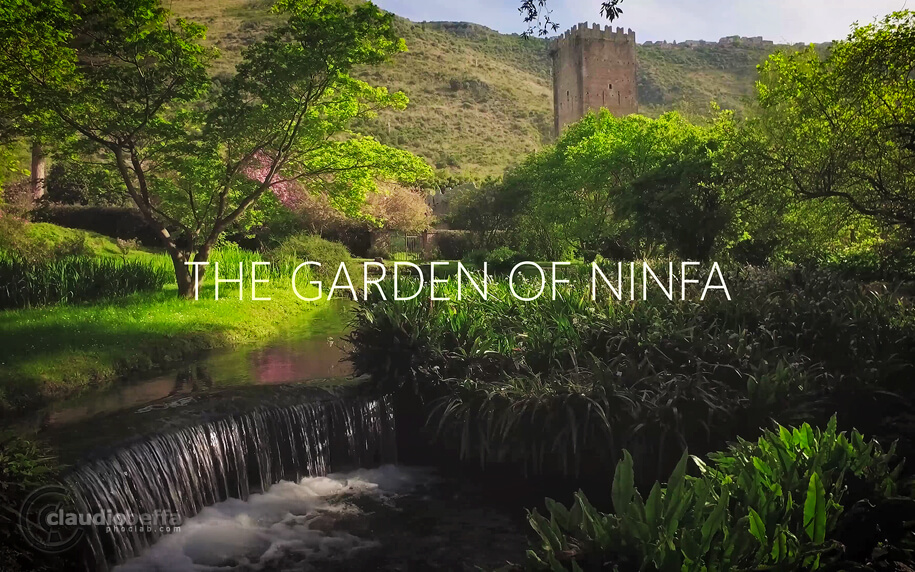 Garden of Ninfa, Garden, Ninfa, Italy, Nature, Spring, Travel, Travel Photography, Video, 4K, Ancient, Romantic