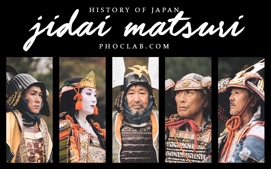 Jidai Matsuri festival of the ages in Kyoto. History and traditions of Japan. Blog post featured image