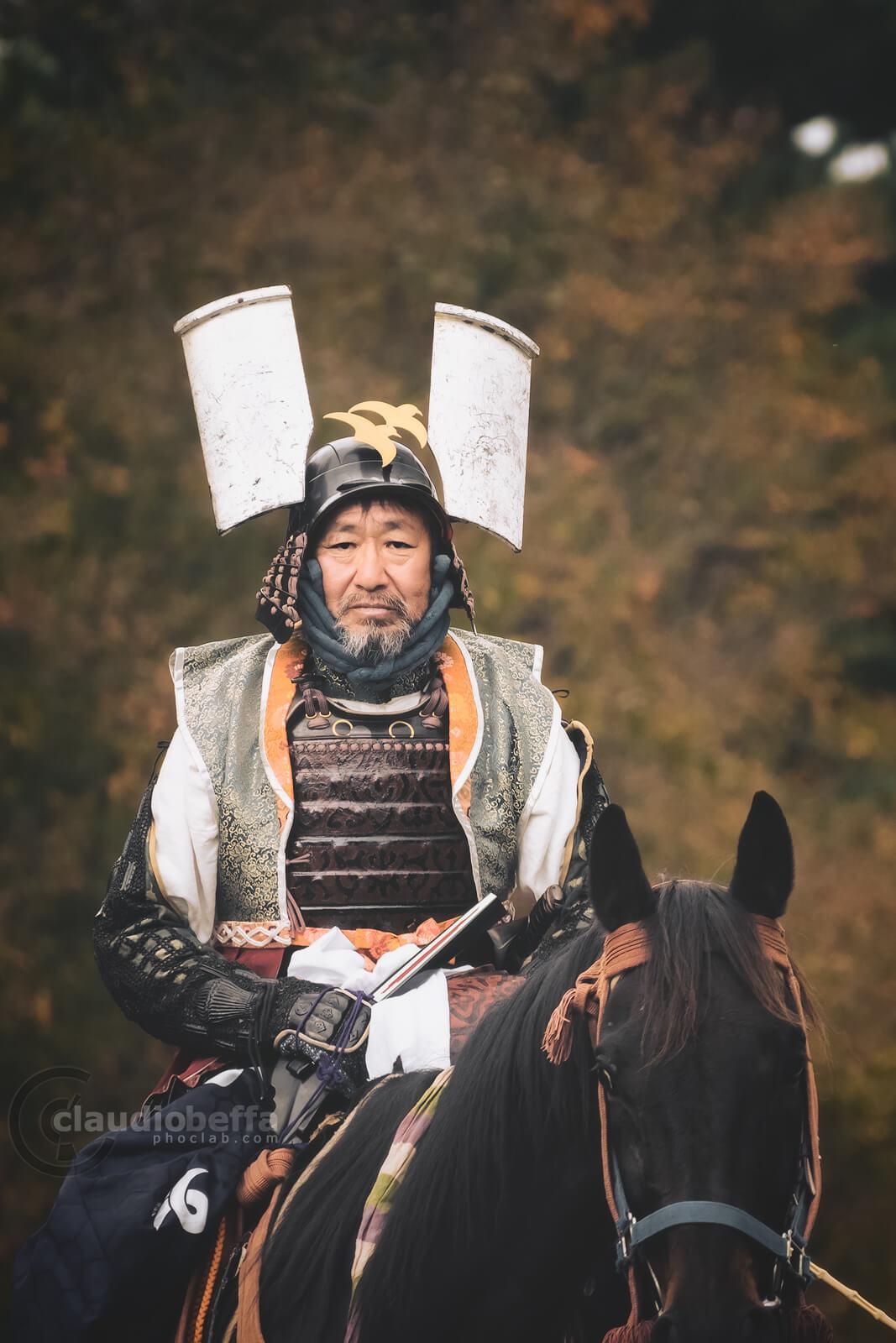 Shibata Katsuie, samurai and commander for Oda Nobunaga. Yoroi, Armor, Kabuto, Helmet, Jidai Matsuri, Festival, Kyoto, Japan, History, Tradition, Travel.